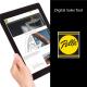 image of Pella logo and a tablet showing Pella Presenter App