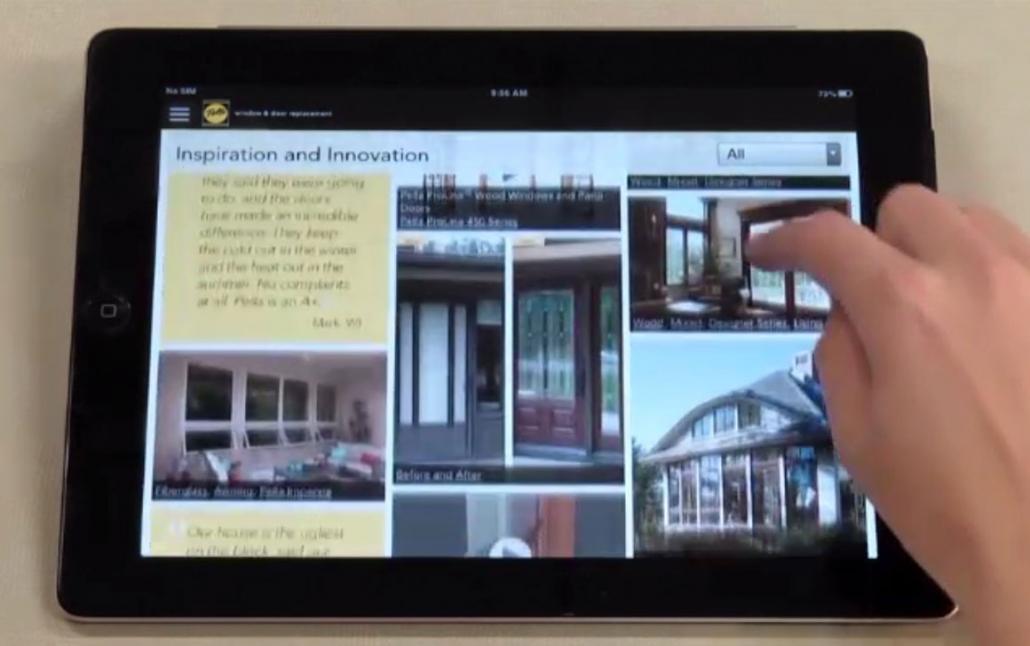 image 2 of Pella PresenterApp screen