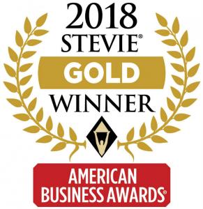 Image of 2018 Stevie Gold Winner award