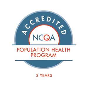 NCQA Population Health Program certification logo