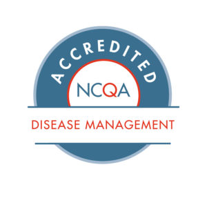NCQA Disease Management certification logo