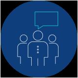 Icon of customer voice