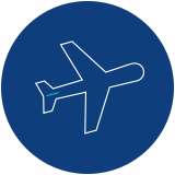 Icon of airplane