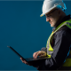 Image of a worker in a safe workplace