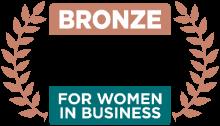 Bronze 2020 Stevie Winner for Women in Business