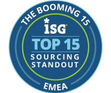 ISG Index Booming 15 Sourcing Standout